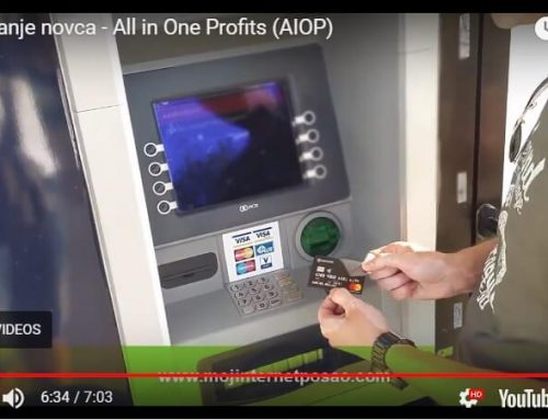 Podizanje novca – All in One Profits (AIOP)